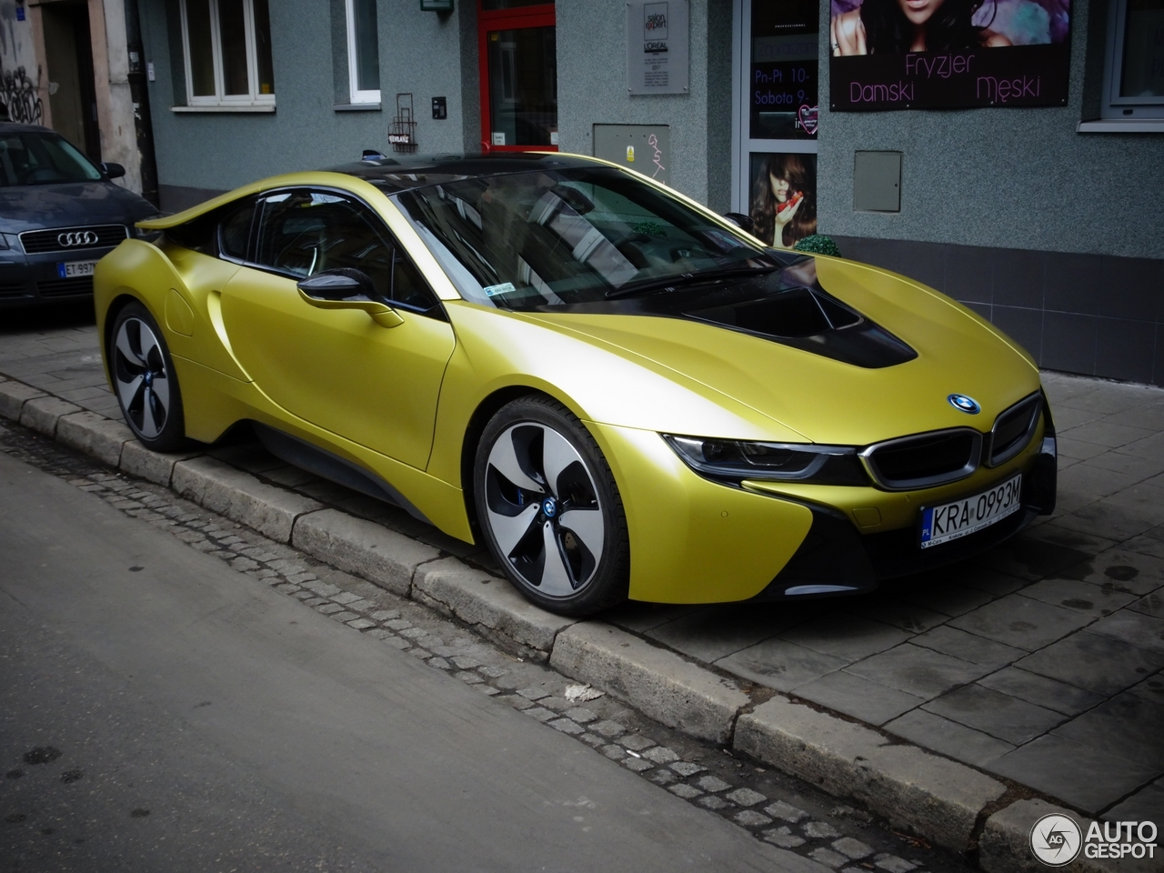 bmw i8 protonic frozen yellow edition 13 march 2018 autogespot. Black Bedroom Furniture Sets. Home Design Ideas
