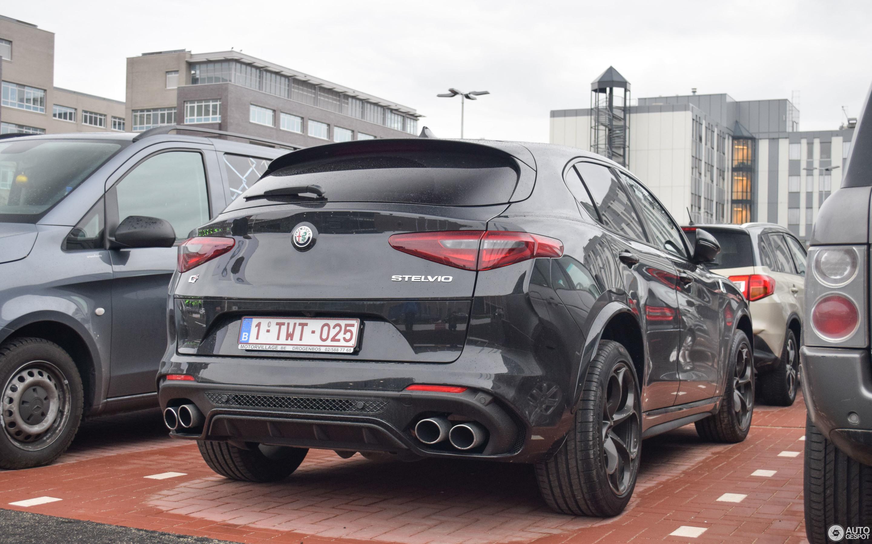 Alfa Romeo Stelvio Quadrifoglio 13 March 2018 Autogespot