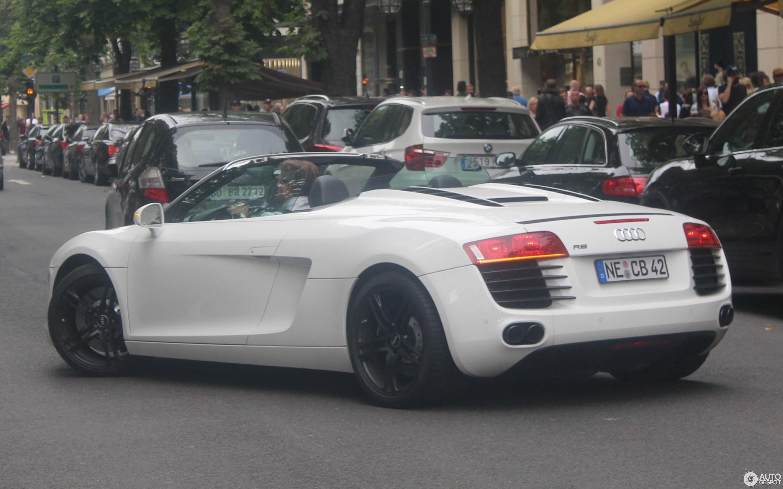 Audi R V Spyder March Autogespot - Audi r8 v8