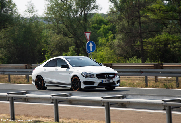 Mercedes-AMG CLA 45 C117 OrangeArt Edition