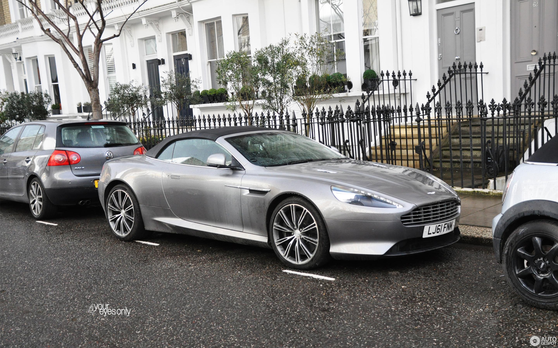Aston Martin Virage Volante March Autogespot - 2018 aston martin virage
