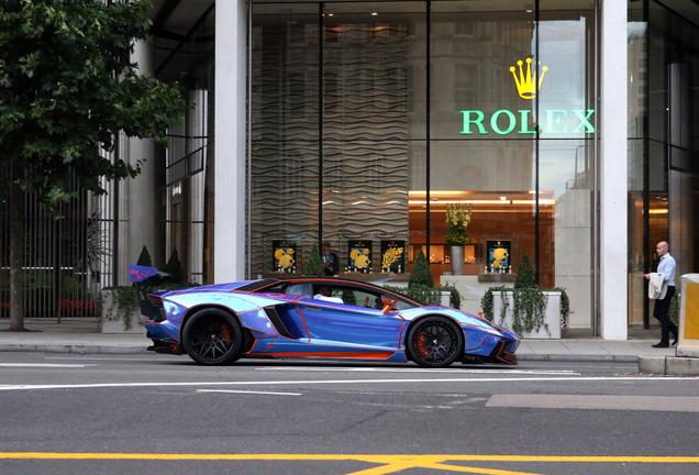 Lamborghini Aventador LP700-4 Liberty Walk LB Performance Wide Body