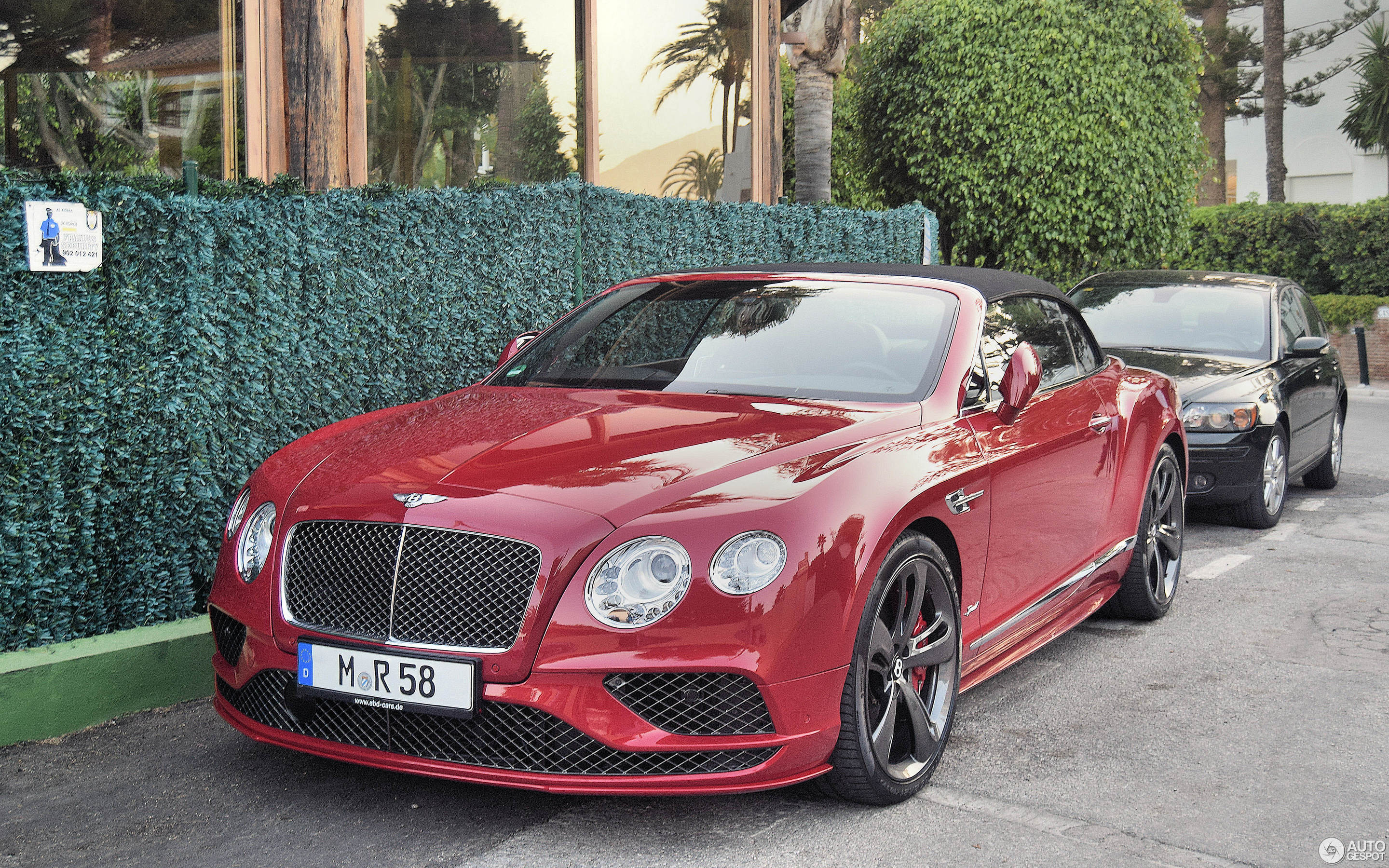 Bentley Continental GTC Speed 2016 16 март 2018 Autogespot