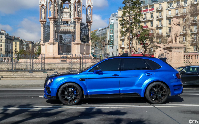 Bentley Mansory Bentayga 16 March 2018 Autogespot