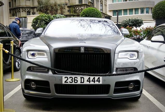 Rolls-Royce Mansory Wraith Black Badge