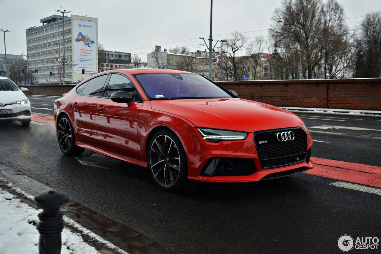 Audi Rs7 Sportback 2015 Performance 17 March 2018 Autogespot