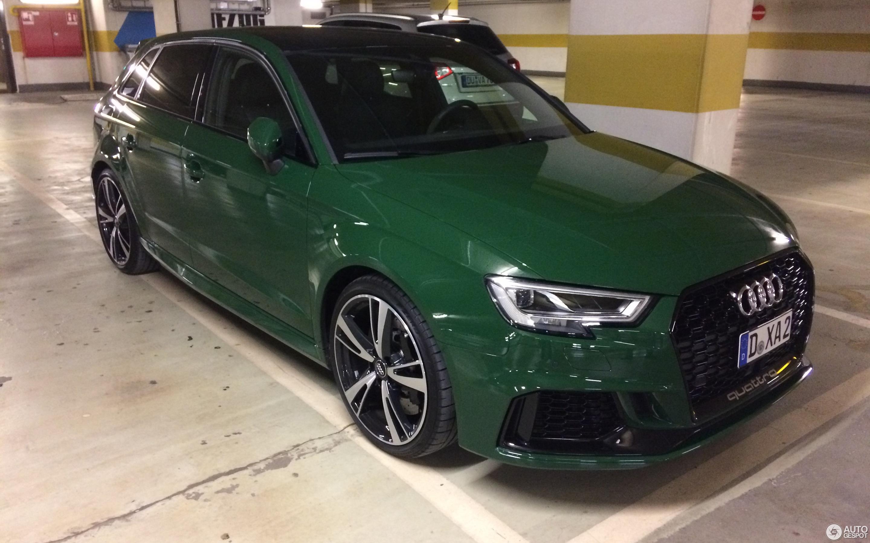 Audi Rs3 Sportback 8v 2018 17 March 2018 Autogespot