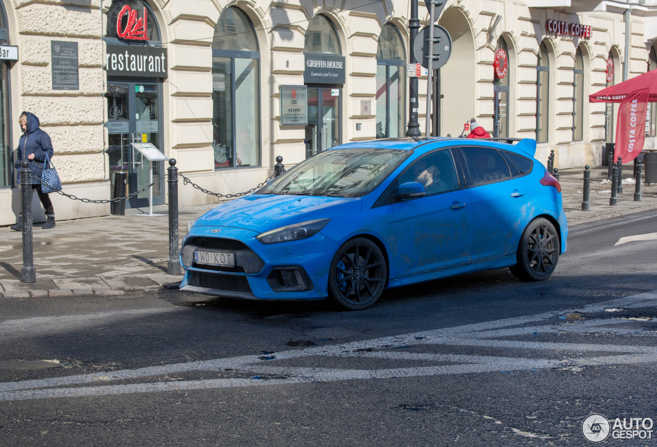 ford focus rs 2015 18 march 2018 autogespot