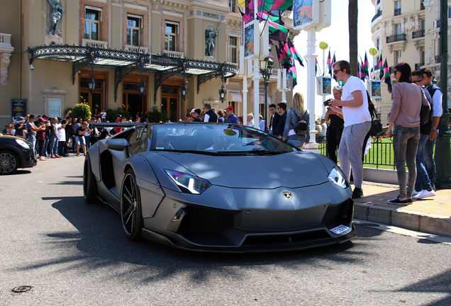 Lamborghini Aventador LP700-4 Roadster Liberty Walk LB Performance Wide Body