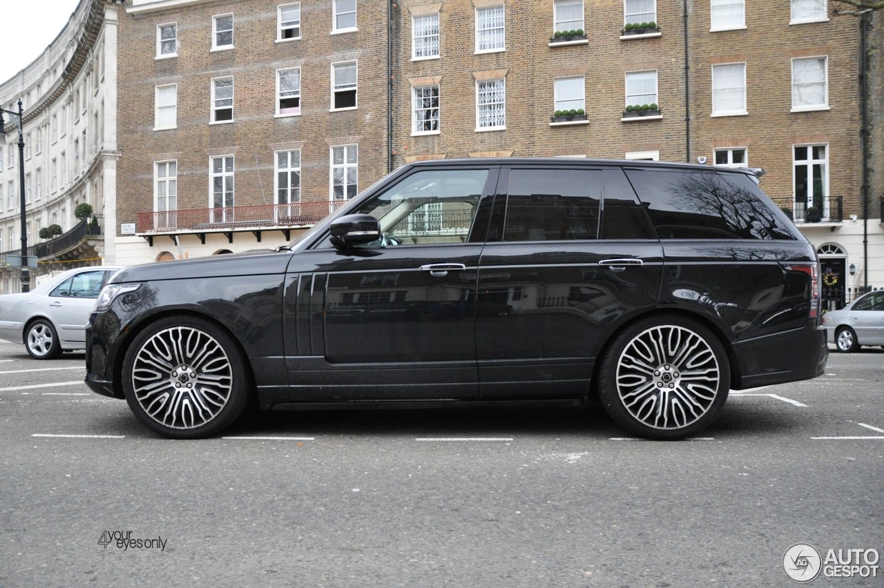 Land Rover Overfinch Range Rover Autobiography - 27 March ...