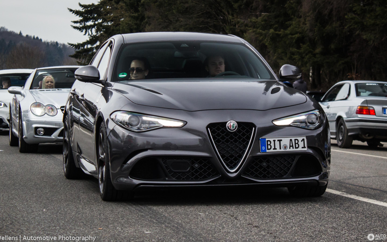 Alfa Romeo Giulia Quadrifoglio 30 март 2018 Autogespot