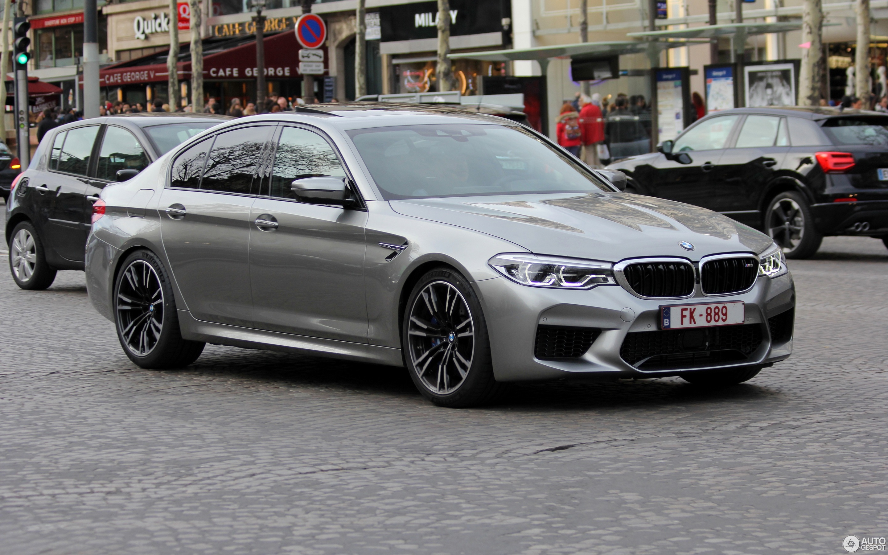 BMW M5 F90 - 31 March 2018 - Autogespot