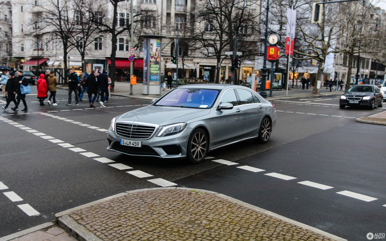 Mercedes Benz S 63 AMG V222 1 April 2018 Autogespot