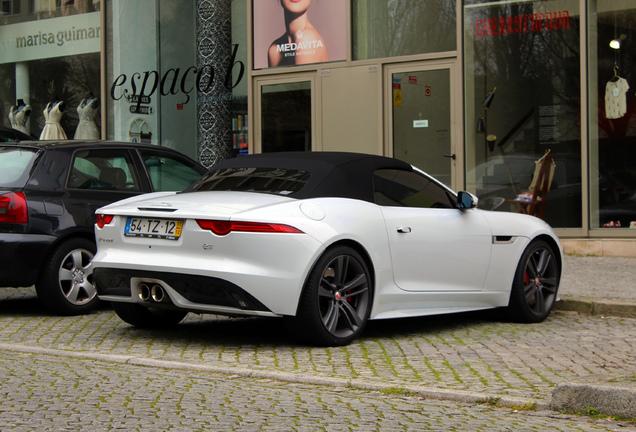 Jaguar F-Type S Convertible British Design Edition