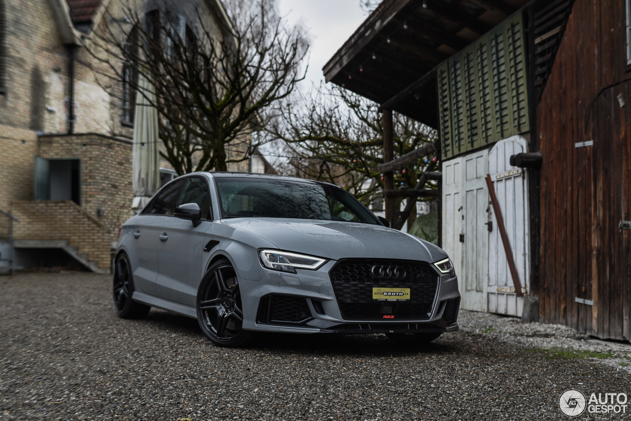 Audi ABT RS3 Sedan 8V - 6 April 2018 - Autogespot