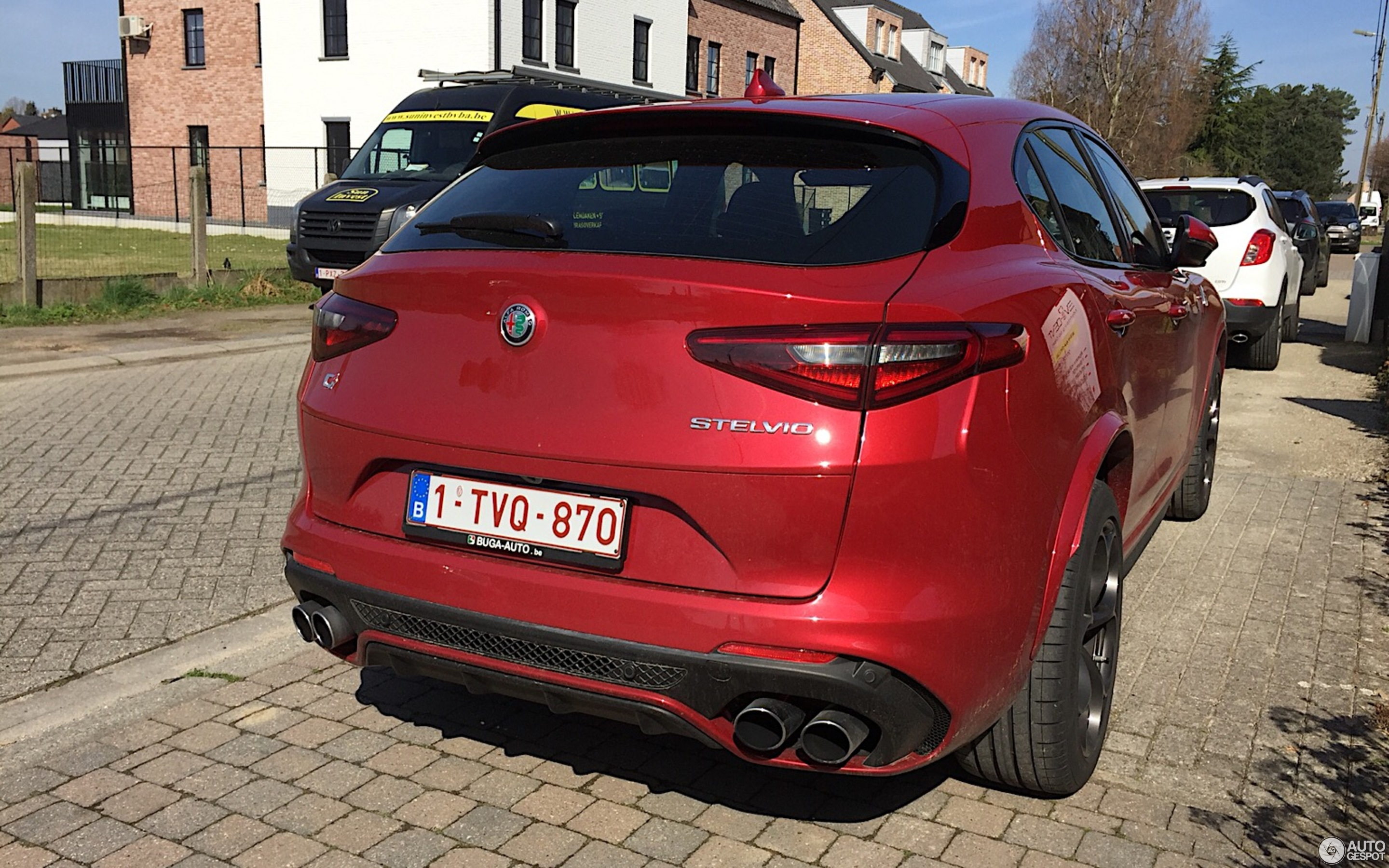 alfa romeo stelvio quadrifoglio 6 april 2018 autogespot. Black Bedroom Furniture Sets. Home Design Ideas