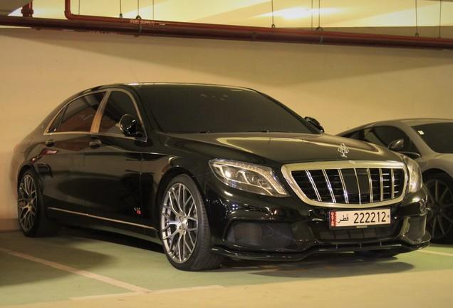 Mercedes-Maybach Brabus 900 Rocket