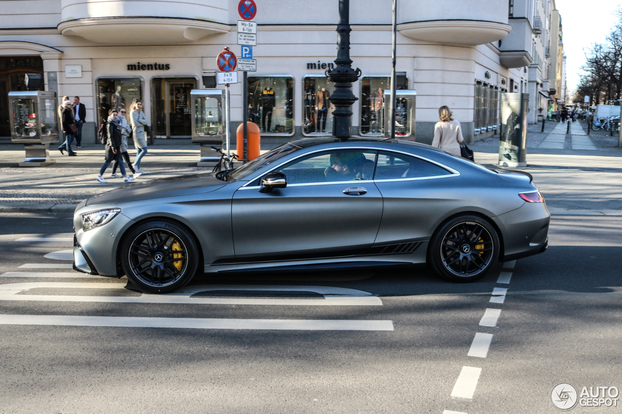 mercedes amg s 63 coup c217 2018 yellow night edition 7 avril 2018 autogespot. Black Bedroom Furniture Sets. Home Design Ideas