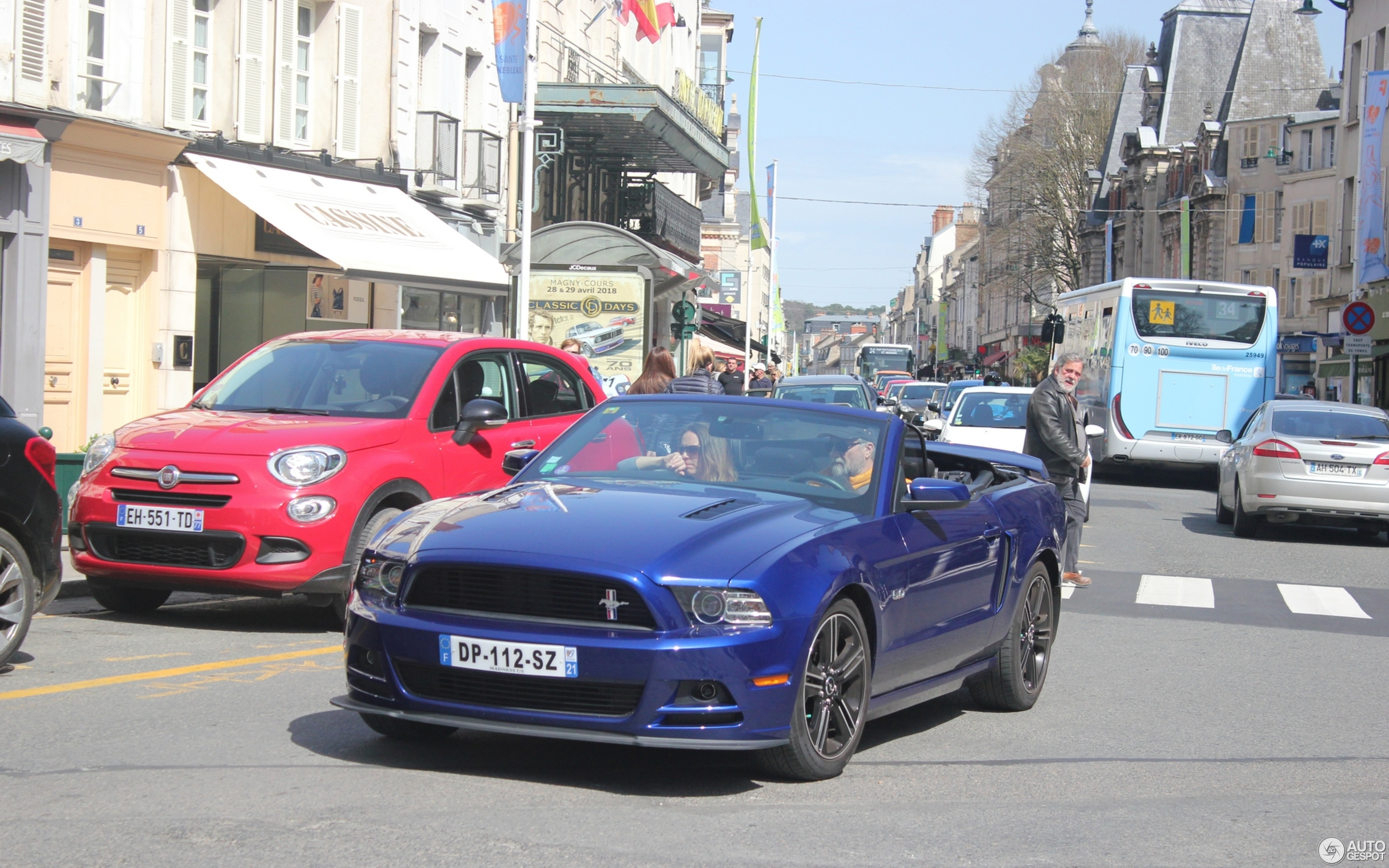 Ford Mustang Gt Convertible 2013 7 April 2018 Autogespot