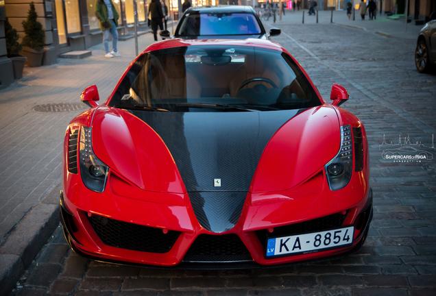 Ferrari 458 Spider Mansory Siracusa