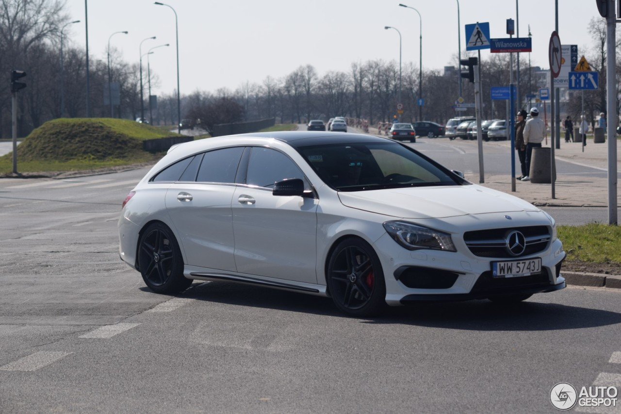 Mercedes Benz Cla 45 Amg Shooting Brake 9 Kwiecie 2018
