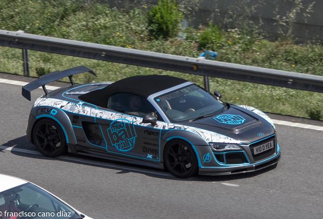 Audi R8 V10 Spyder Stasis Engineering