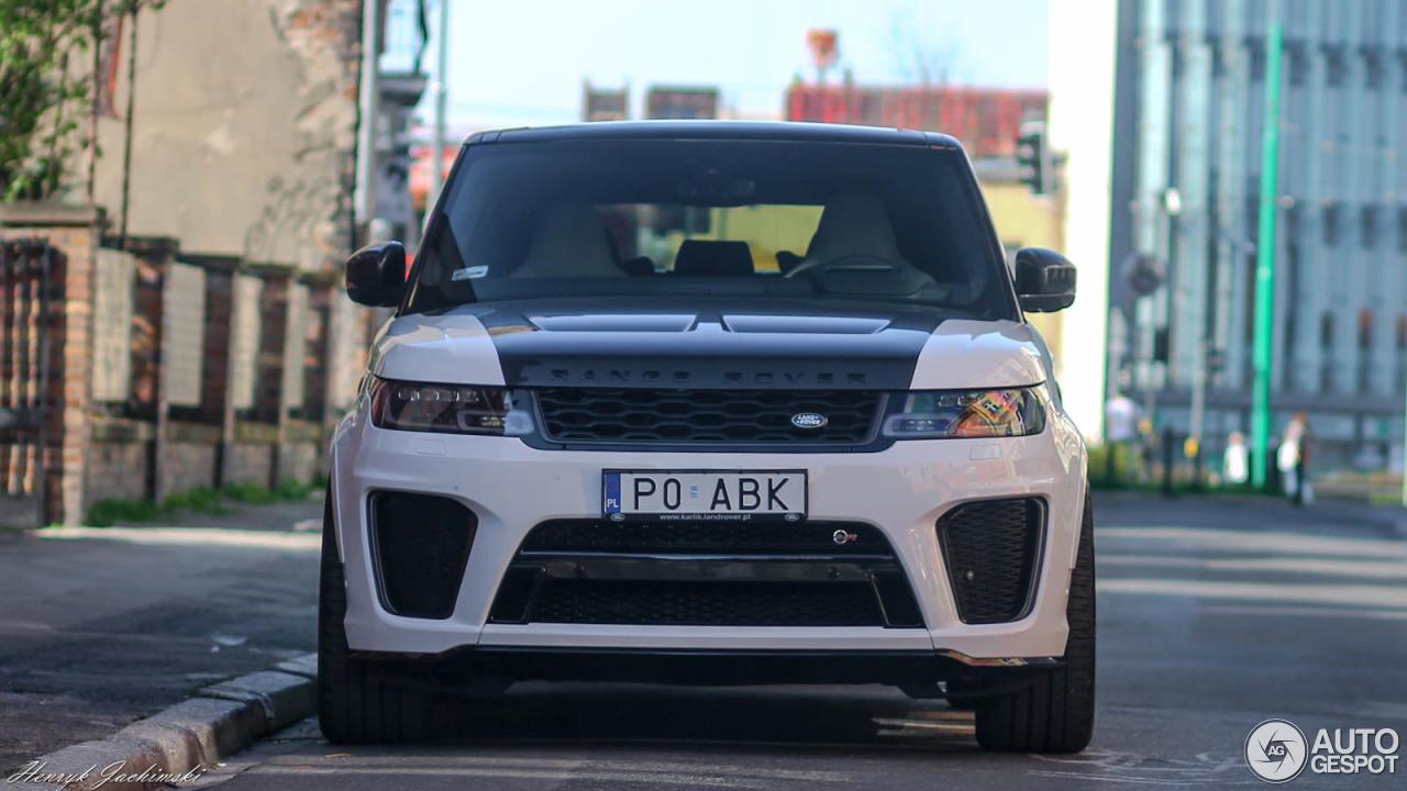 land rover range rover sport svr 2018 19 april 2018 autogespot. Black Bedroom Furniture Sets. Home Design Ideas