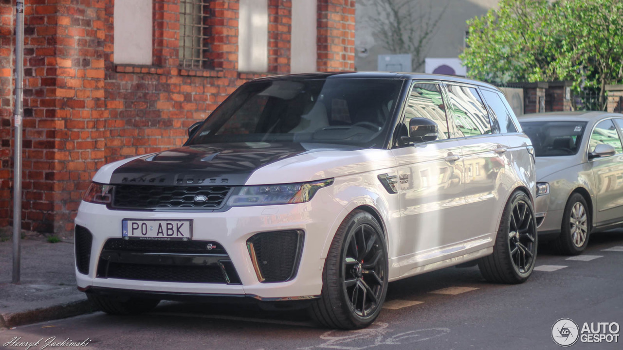 land rover range rover sport svr 2018 19 april 2018 autogespot. Black Bedroom Furniture Sets. Home Design Ideas