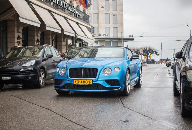 Bentley Continental GTC V8 S 2016