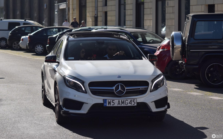 Mercedes Benz GLA 45 AMG Edition 1 21 April 2018 Autogespot