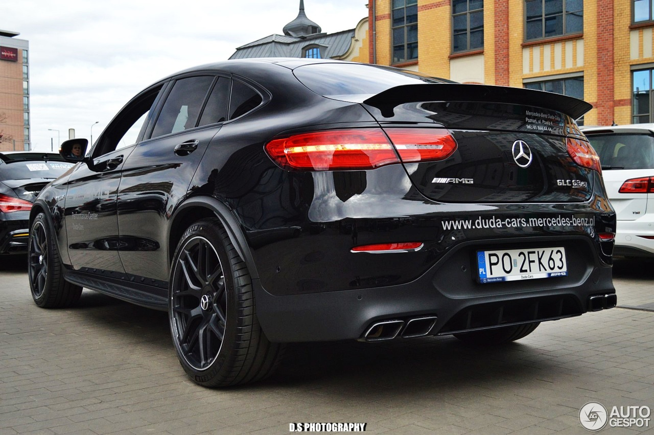 mercedes amg glc 63 s coupe c253 2018 22 april 2018 autogespot. Black Bedroom Furniture Sets. Home Design Ideas