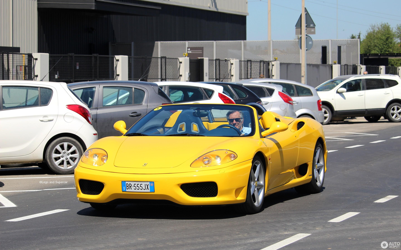 Ferrari 360 Spider 23 April 2018 Autogespot