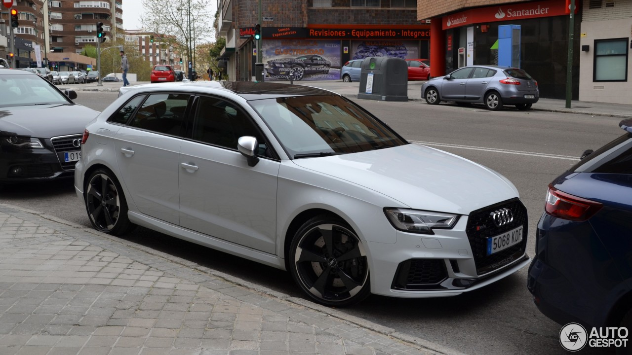 Audi Rs3 Sportback 8v 2018 24 April 2018 Autogespot