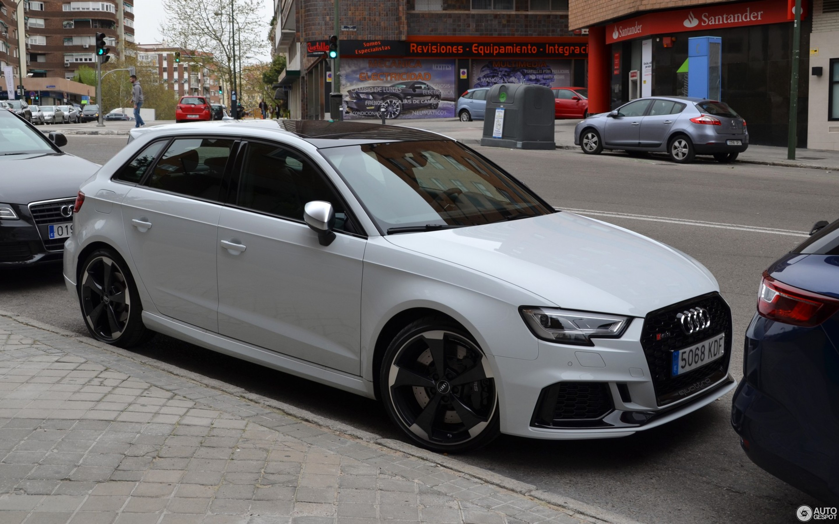 Audi RS3 Sportback 8V 2018 - 24 avril 2018 - Autogespot