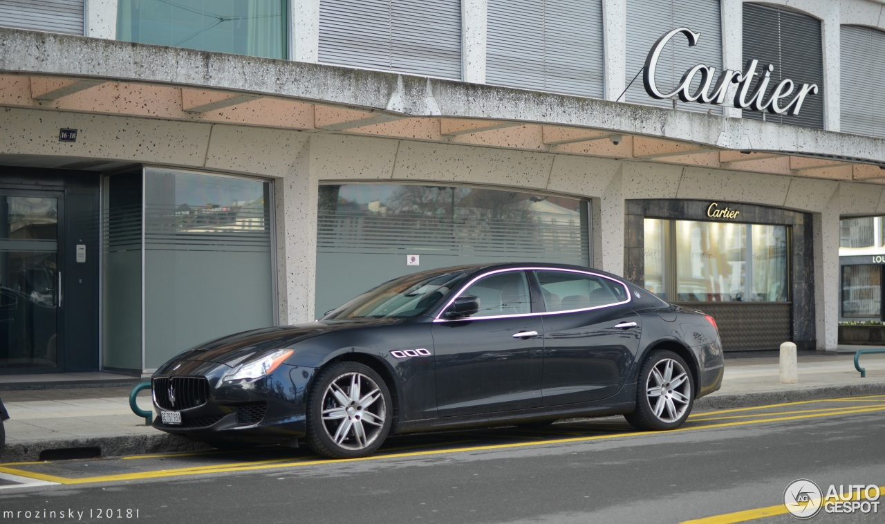 Maserati Quattroporte Diesel 2013 - 25 april 2018 - Autogespot