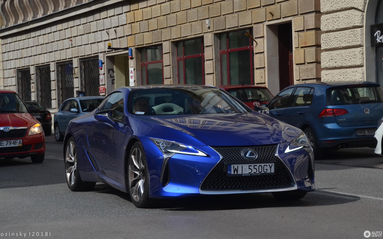 Lexus Lc 500 Structural Blue Edition 27 April 2018 Autogespot