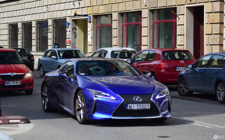 Lexus Lc 500 Structural Blue Edition 28 April 2018 Autogespot