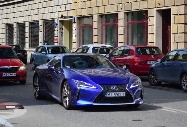 Lexus LC 500 Structural Blue Edition
