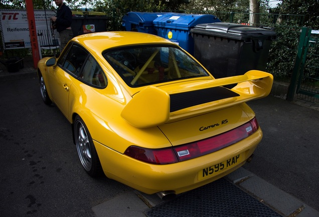 Porsche 993 Carrera RS Clubsport