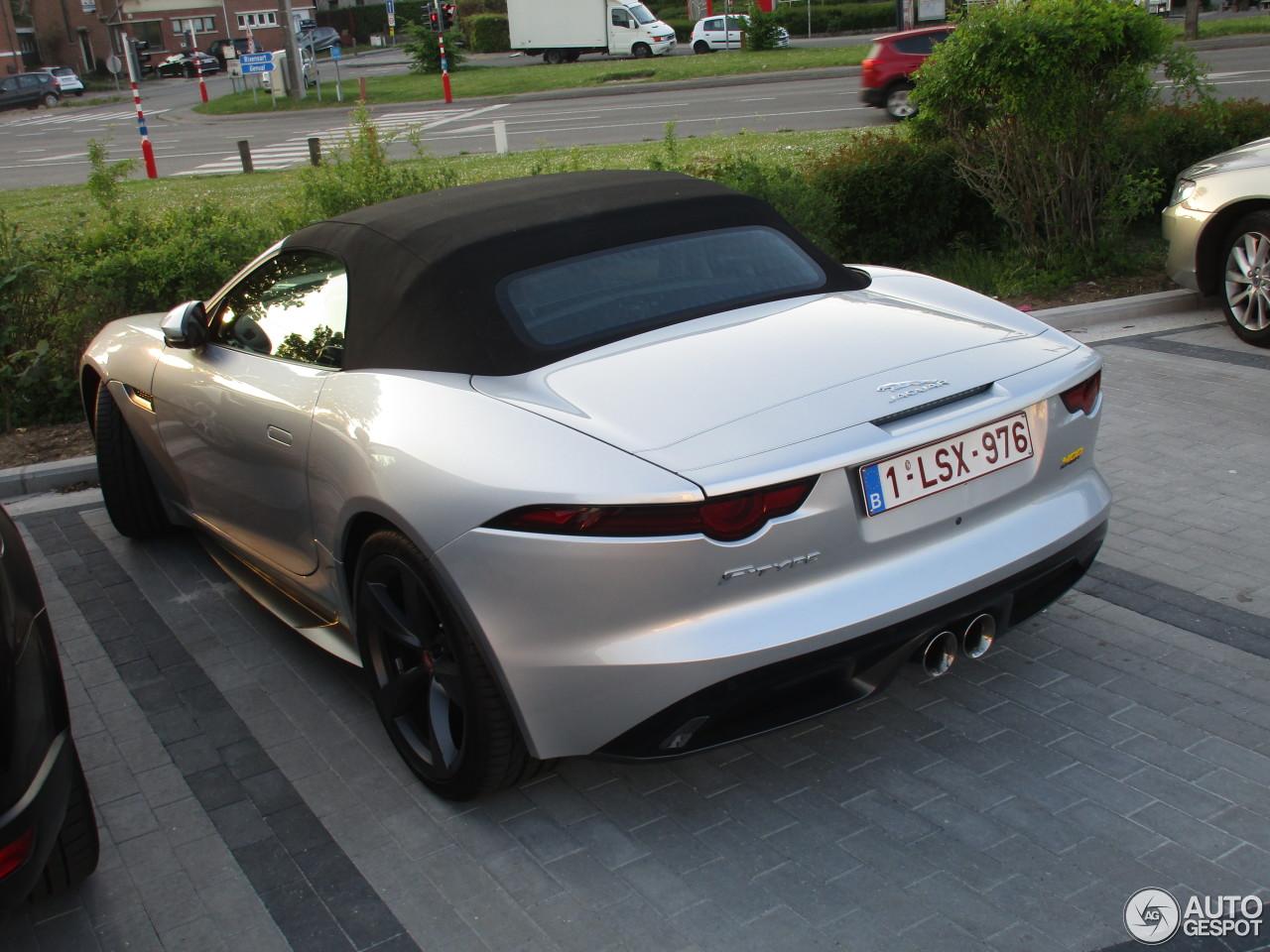 jaguar f type 400 sport convertible 4 may 2018 autogespot. Black Bedroom Furniture Sets. Home Design Ideas