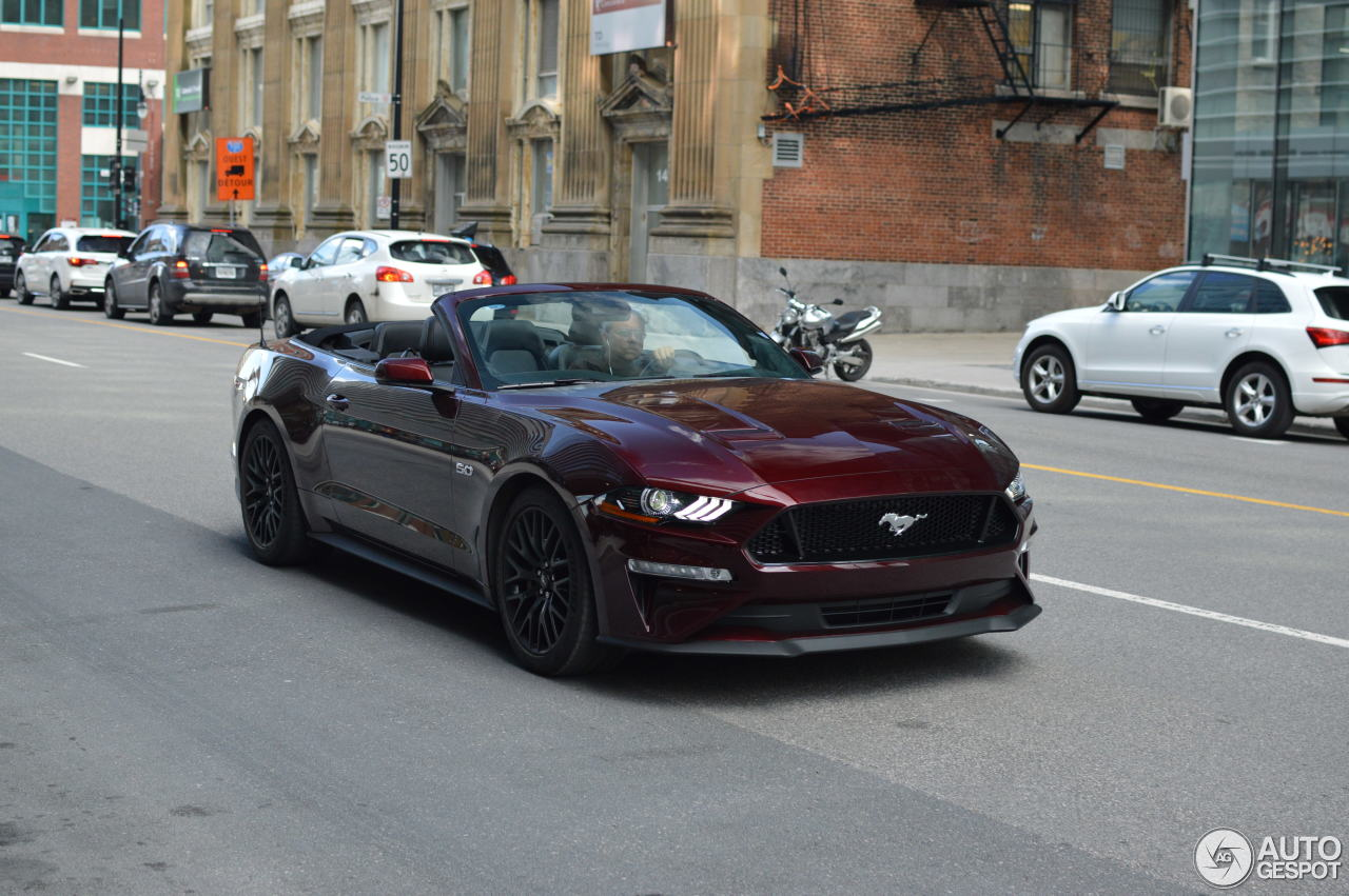ford mustang gt convertible 2018 9 may 2018 autogespot. Black Bedroom Furniture Sets. Home Design Ideas