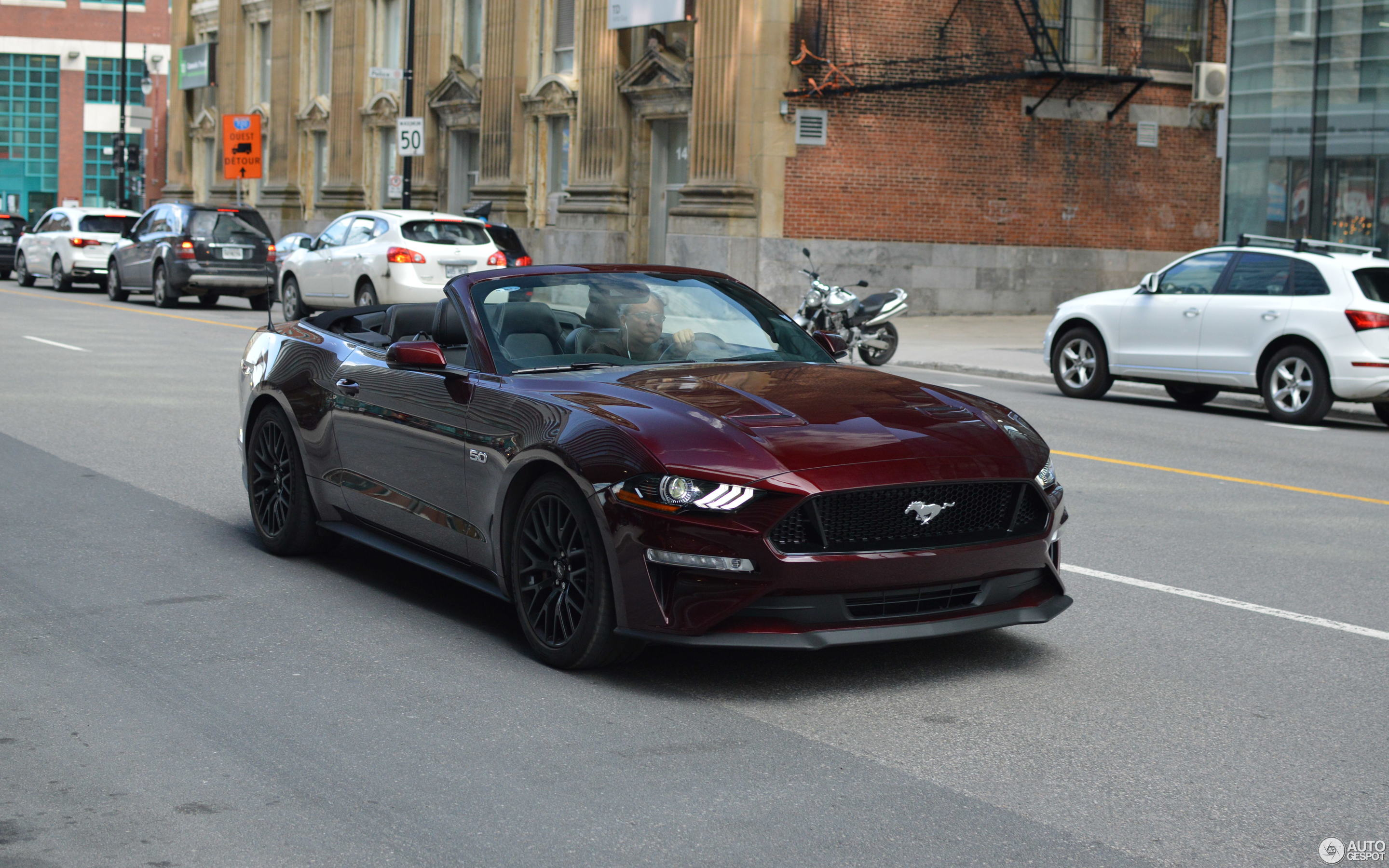 Ford Mustang GT Convertible 2018 9 May 2018 Autogespot