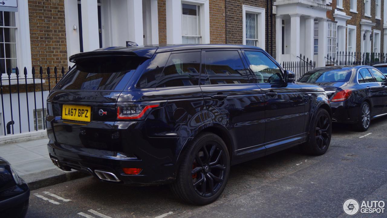 Range Rover Sport Svr 2018 >> Land Rover Range Rover Sport SVR 2018 - 10 May 2018 - Autogespot