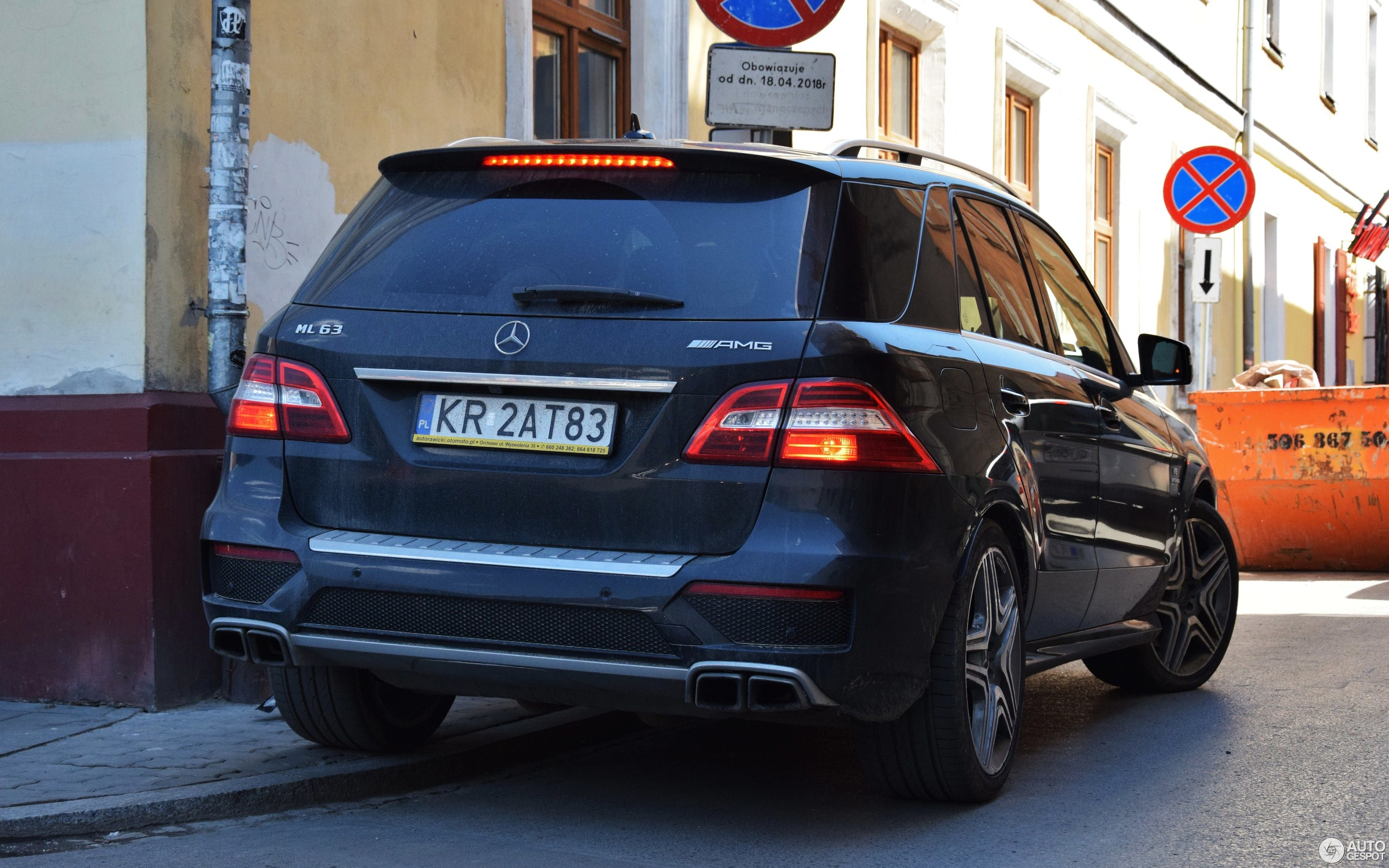 Mercedes Benz ML 63 AMG W166 10 May 2018 Autogespot