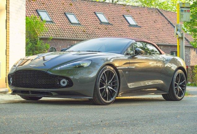 Aston Martin Vanquish Volante Zagato