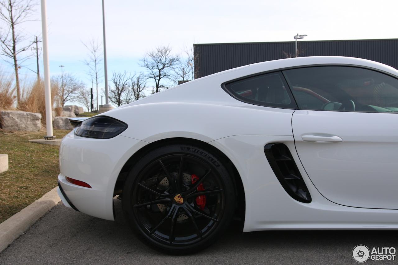 Porsche 718 Cayman Gts 11 May 2018 Autogespot