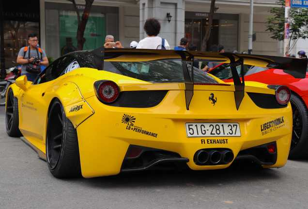 Ferrari 458 Italia Liberty Walk Widebody