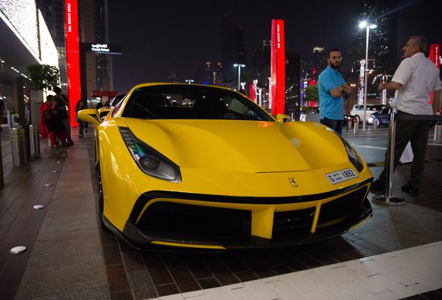 Ferrari488 Spider Novitec Rosso