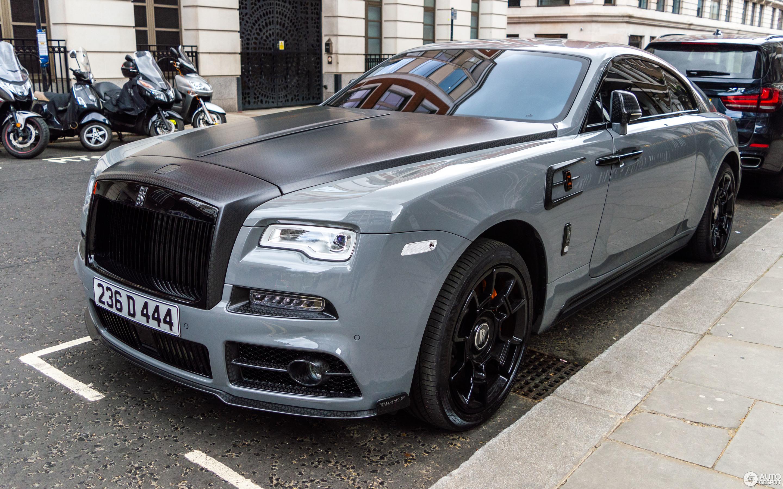 Rolls Royce Mansory Wraith Black Badge 23 May 2018 Autogespot
