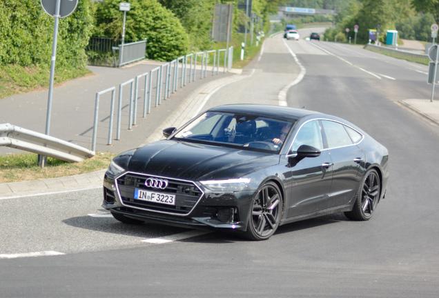 Audi S7 Sportback 2018 Mule